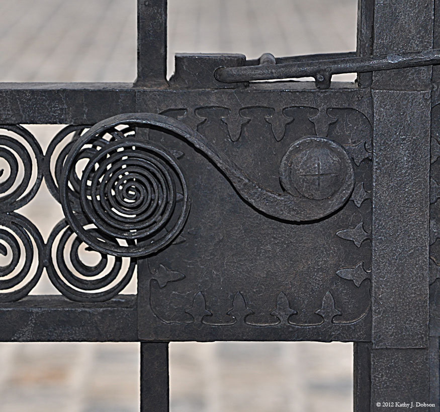 Gate Handle Detail