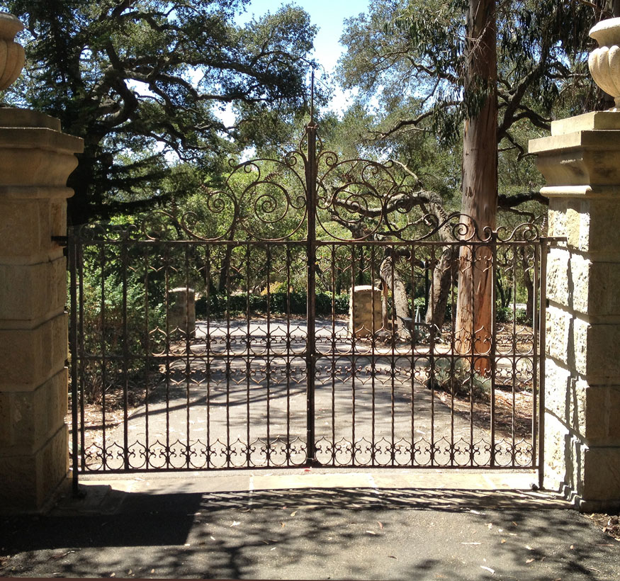 Old World Iron Gate